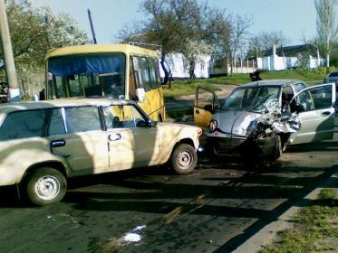Авария в Корабельном районе Николаева