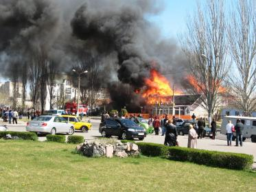 Пожар ресторана