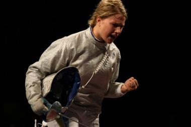 Ольга Харлан на Олимпиаде в Пекине